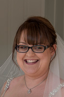 bride smiling in ceremony room at Salcombe Harbour Hotel, Salcombe, Devon