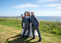 Wedding at Whitsand Bay Fort, Cornwall