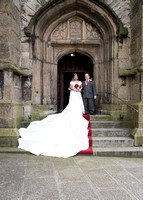 Graham and Emily at St Andrew's Church and Abbey Hall, Plymouth.