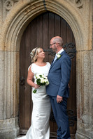 Paul and Kate at  St Mary's Church, Tamerton Foliot and The National Marine Aquarium