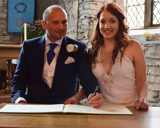 Menheniot Wedding