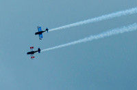 RAF Tutor Display Team at Plymouth Armed Forces day 2014